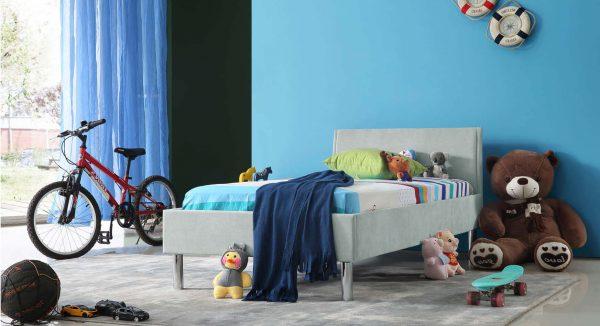מיטת ילדים היפו כחול שמיים