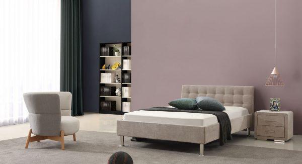 מיטת נוער קלי על רקע חדר נוער מודרני